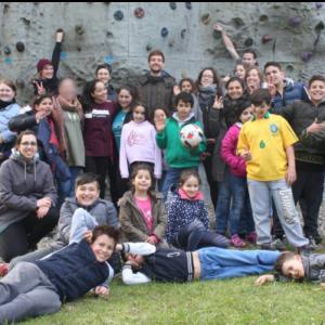 Bunte Kletter- und Aktionstage bei Aprilwetter