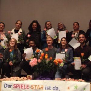 """Wertschätzung der Ehrenamtlichen auf der """"Spiele Star""""-Jubiläumsfeier"""