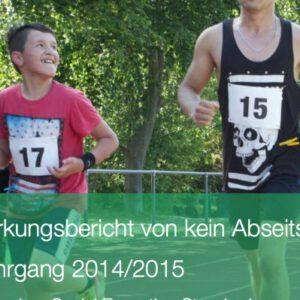 Jahres- und Wirkungsbericht 2014/2015 veröffentlicht